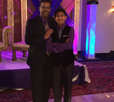 Father son custom outfit for sweet 16